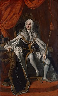 George II of Great Britain British monarch