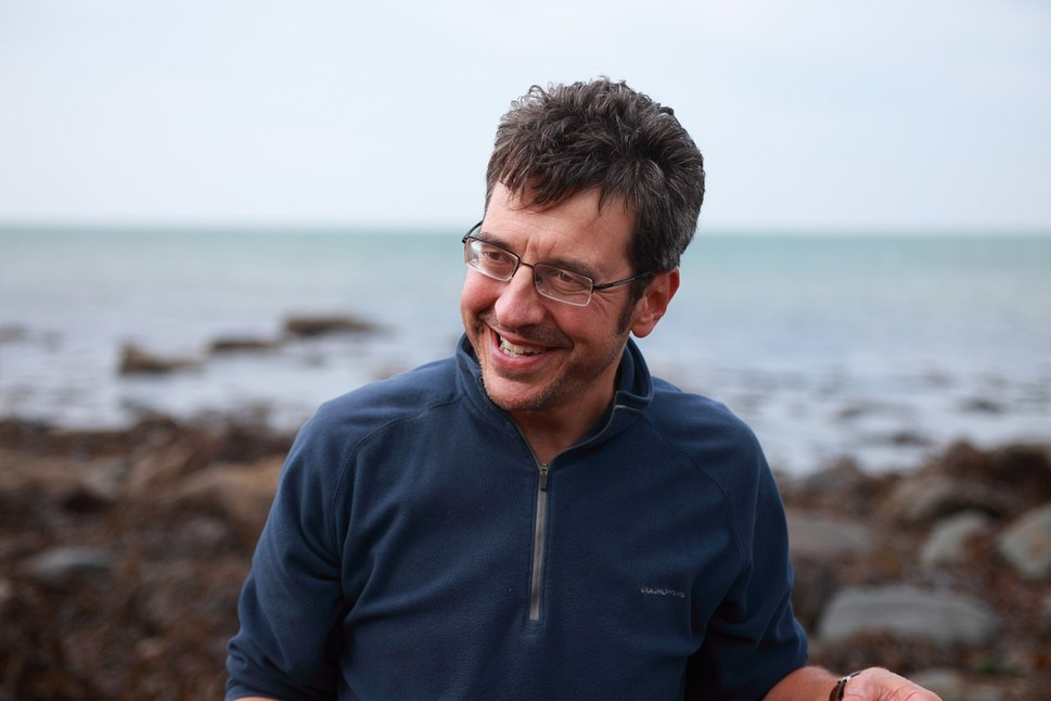 George Monbiot on Beach