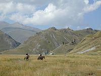 Georgia, Truso Valley - Village Zakagori and environs (photo by Nino Narozauli, 2007).jpg