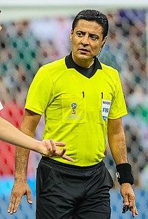 Alireza Faghani Iranian international football referee