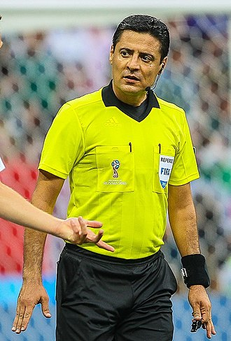 Referee (association football) - Alireza Faghani