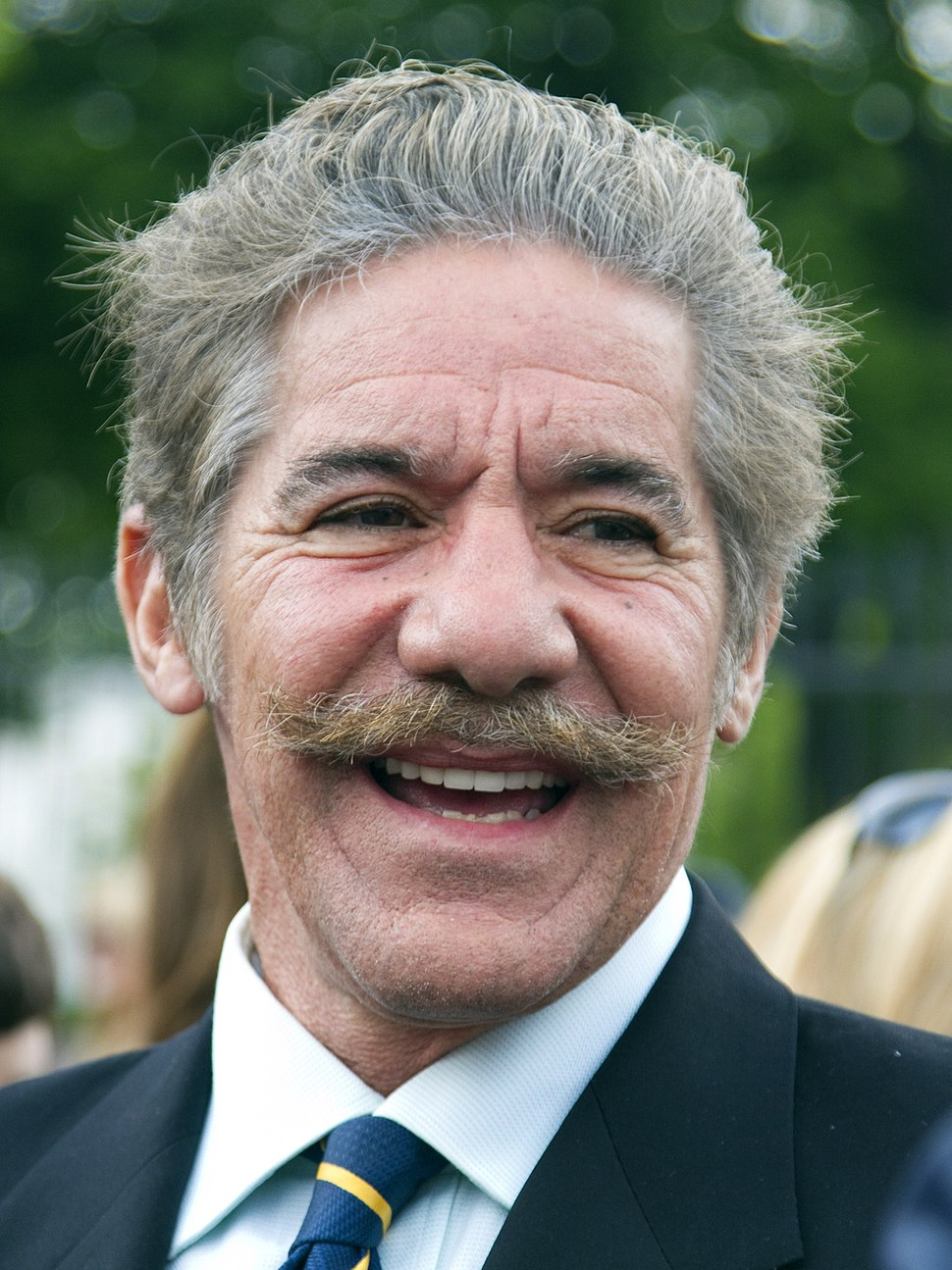 Geraldo Rivera at White House (5682334468) (cropped)