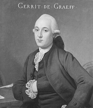Gerrit de Graeff (I.) van Zuid-Polsbroek - Image: Gerrit de Graeff (1711 1752)