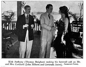 The Ne'er-Do-Well - l to r:John Miltern, Thomas Meighan and Gertrude Astor.