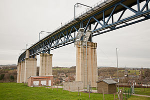 Viaduct of Moresnet - The Geul Valley bridge viewed from the southeastern side