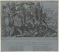 Gevangename van Frans I tijdens de slag van Pavia Overwinningen van Karel V (serietitel) Divi Caroli. V. imp. opt. max. victoriae, RP-P-1992-36.jpg
