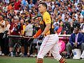 Giancarlo Stanton competes in final round of the '16 T-Mobile -HRDerby (28568340495).jpg