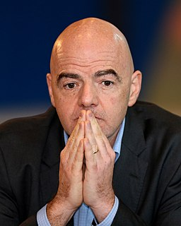 Gianni Infantino Swiss-Italian businessman
