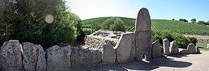 Giants' grave - Coddu Vecchju - Arzachena