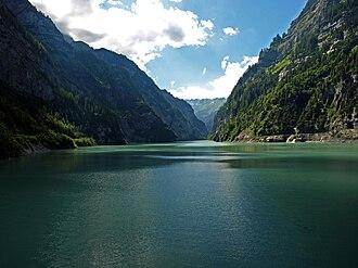 Gigerwaldsee - Image: Gigerwaldsee 2