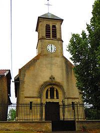 Gincrey L'église Sainte-Agathe.JPG