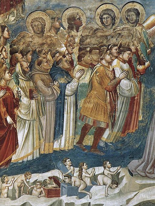 Giotto di Bondone - Last Judgment (detail) - WGA09236