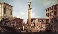 Giovanni Antonio Canal, il Canaletto - View of Campo Santi Apostoli - WGA03902.jpg