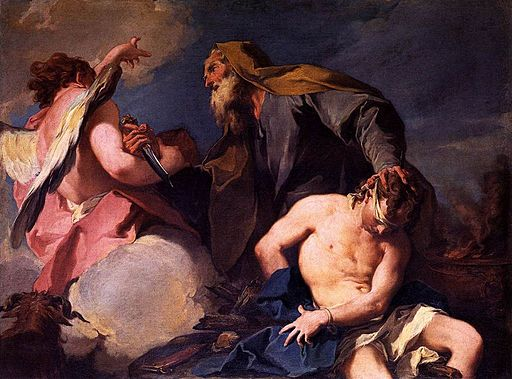 Giovanni Battista Pittoni - Sacrifice of Isaac - WGA17977