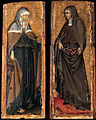 Giovanni di paolo, Sts Clare and Elizabeth of Hungary.jpg