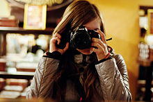 Girl with a camera, Lviv Oblast, 2011.jpg