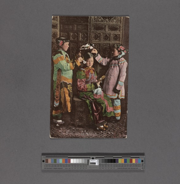 File:Girls dressed in traditional attire (NYPL Hades-2359300-4043656).tiff