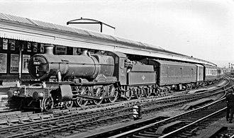 GWR 7800 Class - 7815 Frinton Manor at Gloucester, October 1959.
