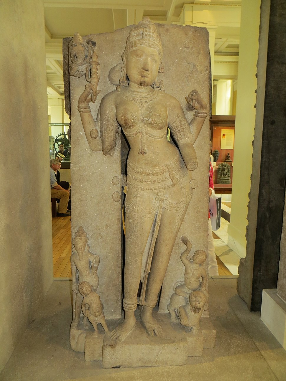 Goddess Ambika from Dhar