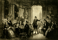 Goethe at the Court of Charles Frederick of Baden (The Works of J. W. von Goethe, Volume 5).png