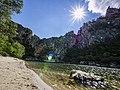Gorges de l'Ardèche - Pont d'Arc à contre-jour.jpg