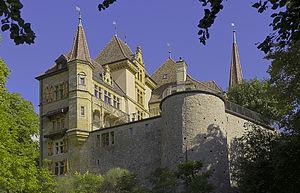 Gorgier - Image: Gorgier Château de Gorgier 20100831 4054HDR