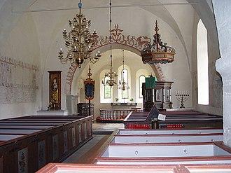 Eke Church - Image: Gotland Eke kyrka 02