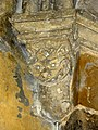 Gournay-en-Bray (76), collégiale St-Hildevert, collatéral sud du chœur, cul-de-lampe dans l'angle sud-ouest.jpg
