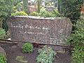 Grabstein Hans-Oskar Wilde Neuer St. Nikolai Friedhof Hannover.JPG