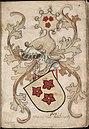Graeue van Arenberch - Graaf van Arenberg - Count of Arenberg - Wapenboek Nassau-Vianden - KB 1900 A 016, folium 09r.jpg