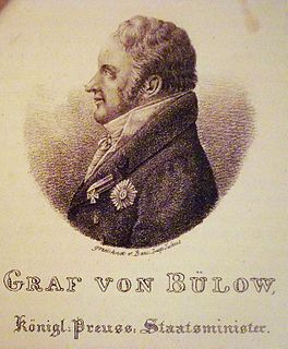Hans Graf von Bülow German noble