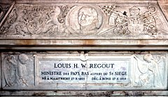 Grafmonument minister Louis Regout, Rome (detail).jpg