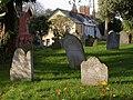Gravestones, Kenton - geograph.org.uk - 1570287.jpg
