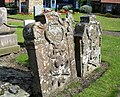 Gravestones at Athelstaneford - geograph.org.uk - 1431599.jpg
