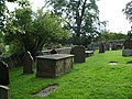 Graveyard, Parish Church of St Leonard, Downham - geograph.org.uk - 538036.jpg