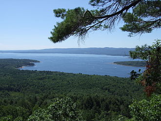 Great Sacandaga Lake - A view from a nearby overlook