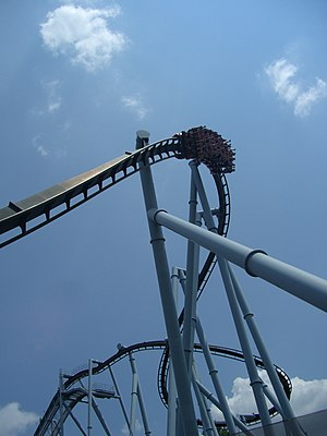 Great Bear, Hersheypark, Hershey, Pensylwania, USA.