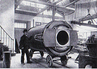Great Paris Exhibition Telescope of 1900 - The eye-piece holder