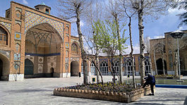 Great Yard of Sultani Mosque