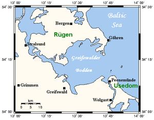 Bay of Greifswald - Image: Greifswalder Bodden