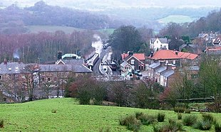 View of Grosmont from the south