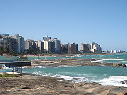 A view of Guarapari