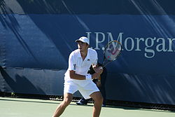 Guillaume Rufin at the 2010 US Open 02.jpg