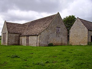 Guiting Power - Image: Guiting Power barn