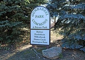 Gunbarrel, Colorado - Gunbarrel Commons Park in Gunbarrel.