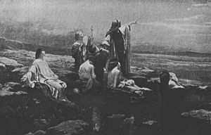 Book of Malachi - Illustration of the coming of God's Messenger in 3:1, by Franciszek Żmurko.