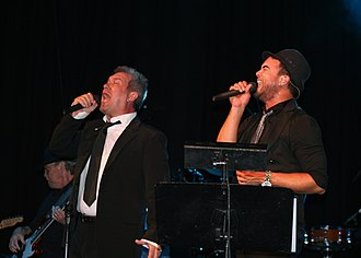 Jimmy Barnes - Barnes with Guy Sebastian, 6 March 2008 State Theatre