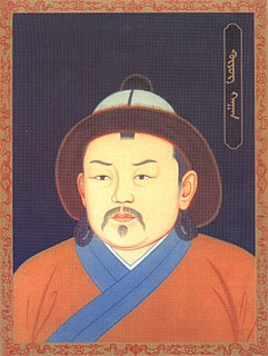 Third Great Khan of the Mongol Empire