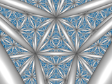 Tiling of hyperbolic space by ideal octahedra