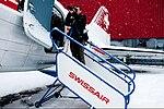 HB-IRN, Swissair stairs (4872100317).jpg
